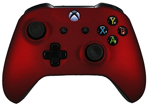Xbox One Red Modded Rapid Fire Controller / Sniper Quick Scope / Drop Shot / Quick Aim / Zombies Auto Aim / Mimic / Burst / For Call of Duty / Modern Warfare / Black Ops / All Games / Soft Touch blue chair gaming