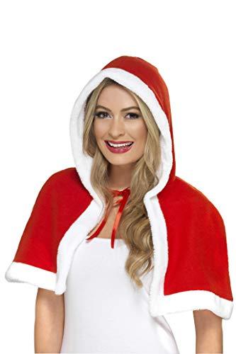 Mini mantello con cappuccio Babba Natale *01225