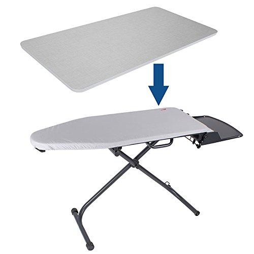 Aufschiebetisch, Tischplatte , Aufschiebebrett für die knittax Bügeltische AT 1000 und CBT 220 |