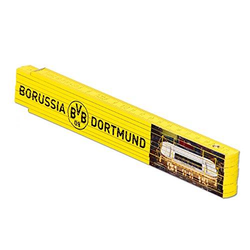 Borussia Dortmund Unisex Bvb- Zollstock, Schwarz/gelb, Einheitsgröße