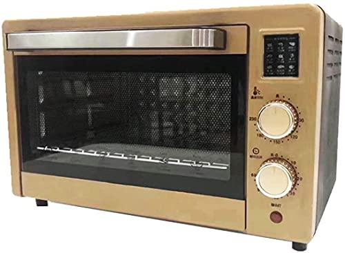 Tienda El horno eléctrico Mini, 1500W 22L Control ajustable de temperatura 0-230 ℃ 60min Temporizador automático, fácil de limpiar, Mini horno portátil personal