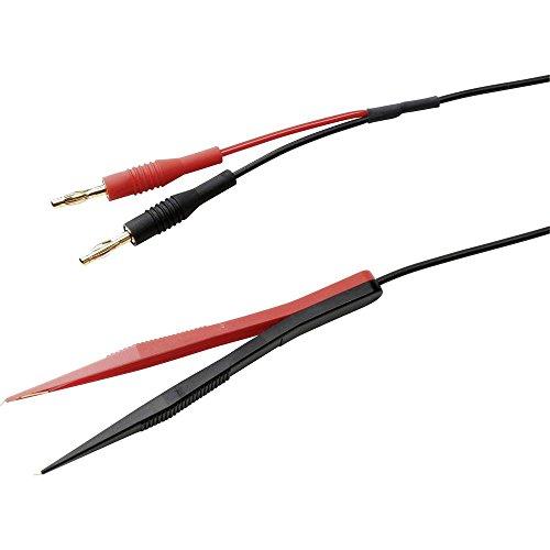Kabel-Größe [Stecker A Leiste 4mm–Sonde] 1.20m Schwarz/Rot SKS Hirschmann SMD TW 120BAN