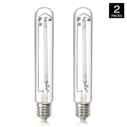 iPower GLBULBH400X2 400 Watt High Pressure Sodium Super Grow Light Lamp Full Spectrum hps bulb, 2-Pack, white