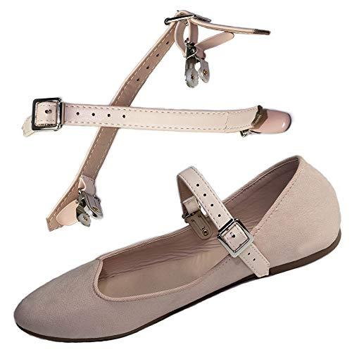 Reutilizable Correas ShooStraps Desmontables Cinturones Zapato Poseedor para Zapatos, Tacones Altos & Zapatos Planos