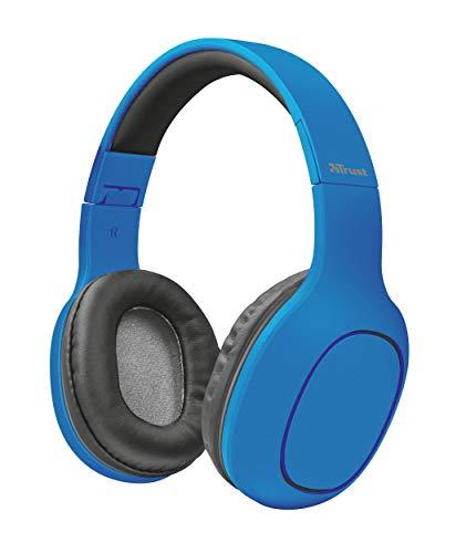 Trust Urban Dona Auriculares inalámbricos con tecnología Bluetooth, Azul