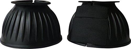 Cloches fermeture double velcro - noir - Médium
