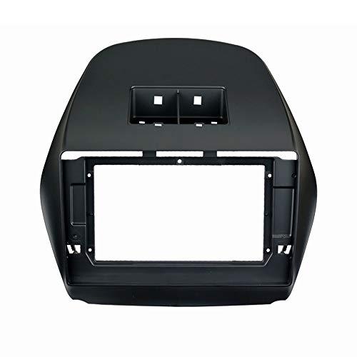 UGAR 11-070L 10 Pollici Doppio kit di Montaggio kit fascia radio compatibile per Hyundai iX-35, Tucson iX 2010+