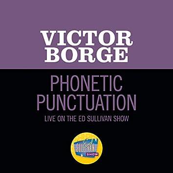 Phonetic Punctuation (Live On The Ed Sullivan Show, June 12, 1960)