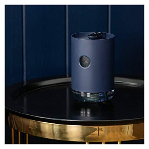LAKYT Humidificador 1L Humidificador de Aire USB Niebla Fresca 3000mAh batería humidificador Difusor de Aceite Esencial Ambientador Casa (Color : Navy Blue)