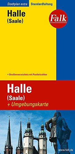 Falk Stadtplan Extra Standardfaltung Halle (Saale)