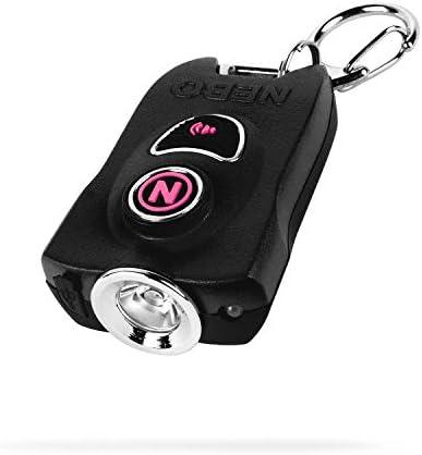 NEBO MyPal Personal Alarm Flashlight 400 Lumen Key Ring Flash Light and 83dB Emergency Alarm product image