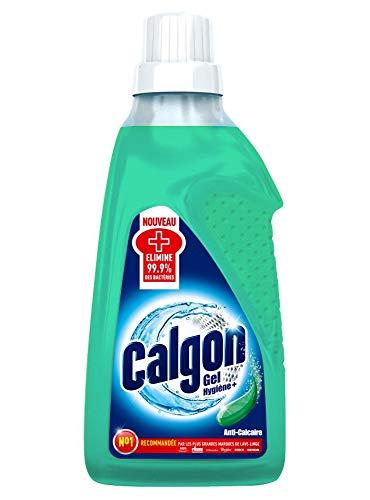 Calgon Gel Hygiène Plus Anticalcaire et Nettoyant pour le Lave-Linge 750 ml