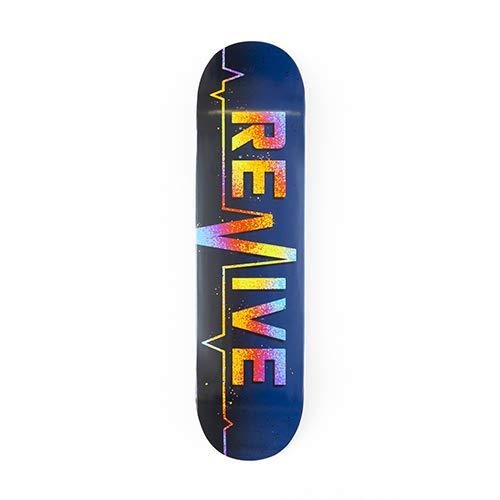 Revive Splatter 2.0 Skateboard-Brett / Deck, 19 cm (7,5 Zoll)