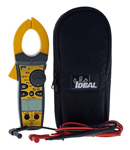 IDEAL INDUSTRIES INC. 61-763 660 Amp AC Tight-Sight Clamp Meter with TRMS, True RMS Current and Voltage, CATIII for 1000v, CATIV for 600v