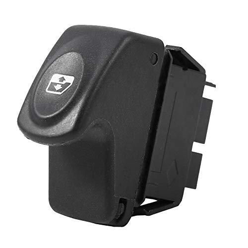 Nrpfell Interruptor de Elevalunas EléCtrico del Coche para Clio 2 II Megane Kangoo Scenic