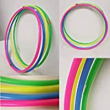 FlickBuyz Solid Plain kids adult Weight Loss Sports hoola Hoop Small and Large Fun Activity Games Fitness...