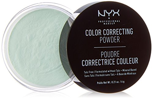 NYX PROFESSIONAL MAKEUP Color Correcting Powder, Green, 0.21 Ounce