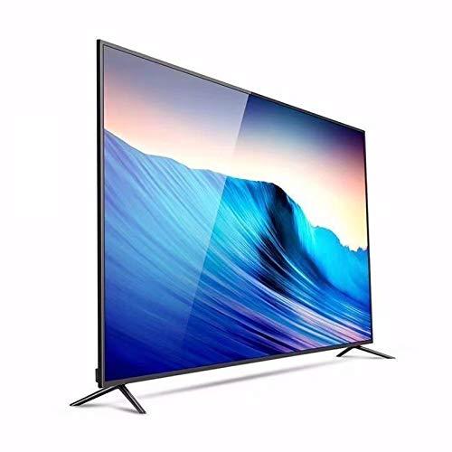 yunyun Smart TV Ultra HD 1080P, TV HD con Pantalla Ancha LED 32/50/55/60 Pulgadas Soporte de Pantalla Plana Decodificación USB (Versión de TV, Versión Inteligente)