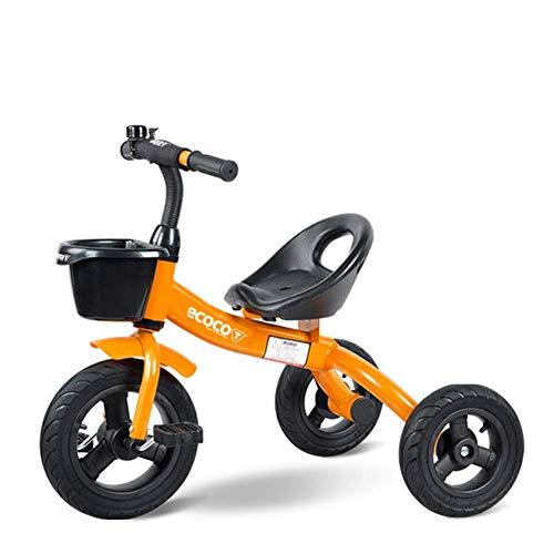 HKX Triciclo Triciclo para niños Bicicleta de Equilibrio de 3 Ruedas para niños Bicicleta Andador para bebés Carros para Caminar Tren Scooter para niños Juguetes de 1,5 a 5 años, D