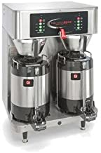 Grindmaster-Cecilware PBVSA-430 PrecisionBrew Shuttle Coffee Brewer 2.0, Dual Brewer for 1.5 Gallon Shuttles (AVS1.5A Included)