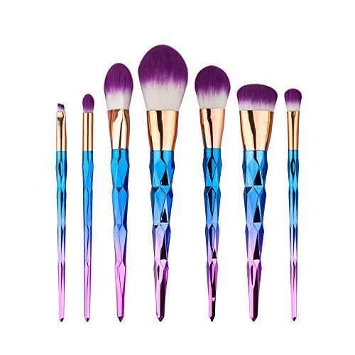 MEISINI Set de pinceaux de maquillage Soft Brush Eye Shadow Foundation Blush Combination Set d'outils de maquillage