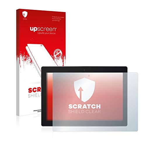 upscreen Schutzfolie kompatibel mit Lenovo Tab 3 10 Business TB3-X70L – Kristallklar, Kratzschutz, Anti-Fingerprint