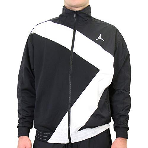 Nike Herren CI7915-010 Jacke, Schwarz/Weiß, L, Black/White, L