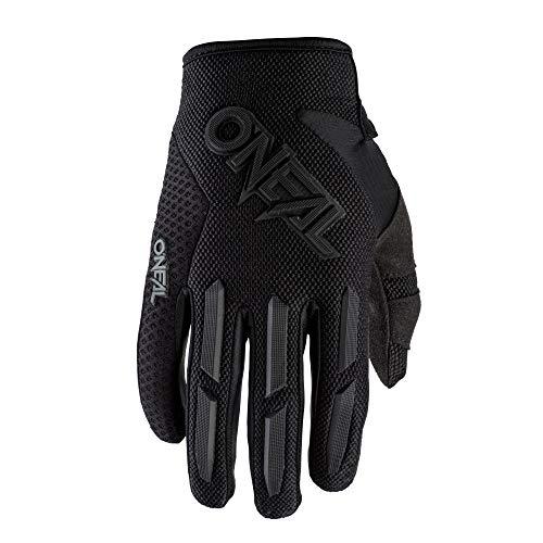 O'NEAL | Fahrrad- & Motocross-Handschuhe | Kinder | MX MTB Mountainbike | Verstellbarer Klettverschluss, Vorgeformte Passform Element Youth Glove | Schwarz | Größe XS