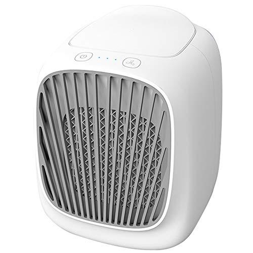 Verdampingsluchtkoeler, USB draagbare mobiele bevochtigingskoeler Kleine koelingsconditioner Waterkoeling Elektrische ventilator voor slaapkamer Kantoor