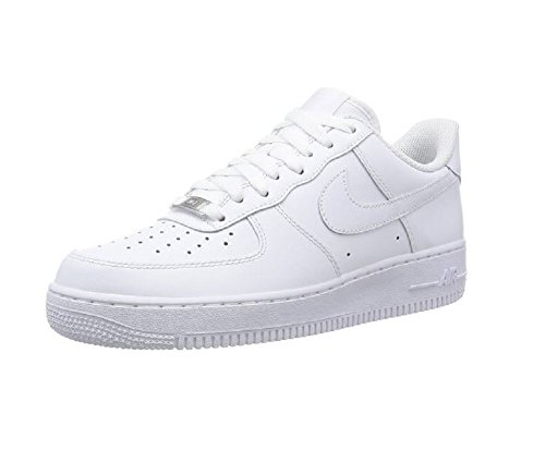 Nike Herren Air Force 1 Low Sneaker, (Weißweiß), 46 EU