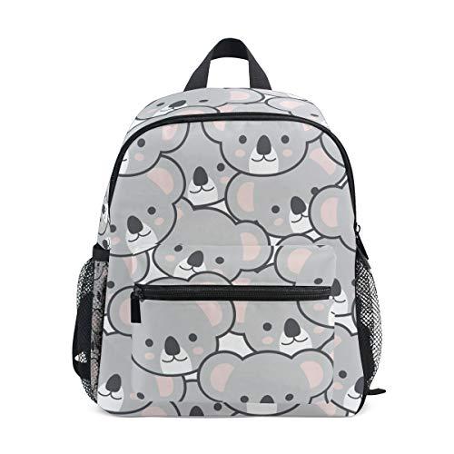 Preschool - Mochila de Dibujos Animados con diseño de Emoji de Koala para niños y niñas