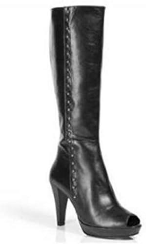 Stiefel de Apart de piel en Farbe schwarz, Farbe schwarz, Größe 39