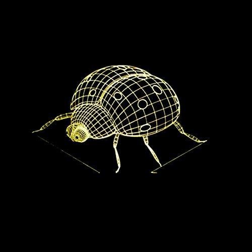 Zyue 7 Farbwechsel 3D Nachtlicht Volkswagen Illusion Led Lampe Action Figure Spielzeug Für Kinder,Bluetooth-Lautsprecher
