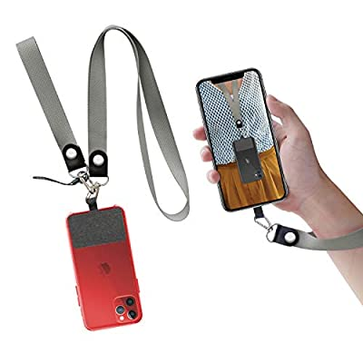 UKON Phone Lanyard Removable Neck Lanyard Wrist Strap
