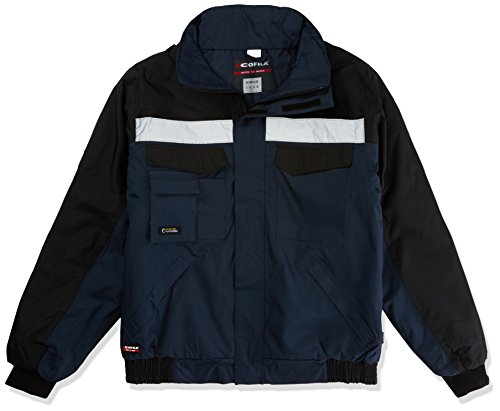 'Cofra V198–0-02.z/4lavoro imbottito giacca'Gale, Marine Blu/Nero, L