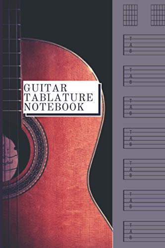 Guitar Tablature Notebook: 120 pages and 6x9' guitar tablature notebook (Musical books)