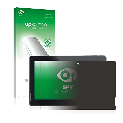 upscreen Anti-Spy Blickschutzfolie kompatibel mit Pearl Touchlet X13.Octa Privacy Screen Sichtschutz Bildschirmschutz-Folie