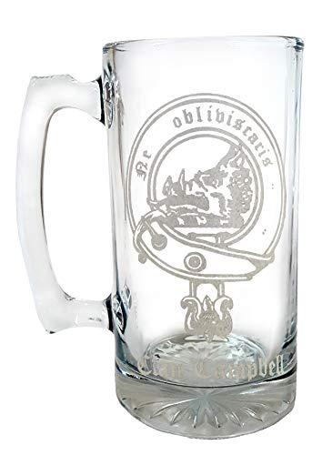 Clan Campbell Scottish Crest 26oz Stein,