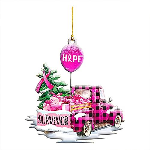 TianWlio Weihnachten Anhänger Dekoration Holz, Anhänger Rosa Weihnachten,weihnachtsdeko basteln,Holz Weihnachtsdeko Anhänger,Ornamenten für Weihnachtsbaum