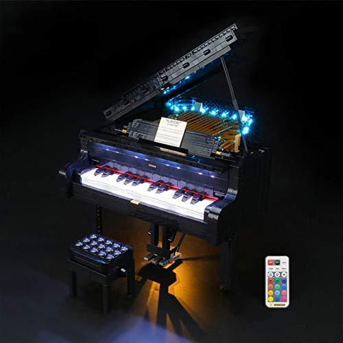 icuanuty Kit de Iluminación LED para Lego 21323, Kit de Luc
