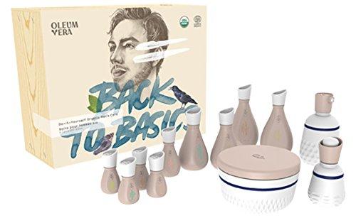Oleum Vera 101085 Do-it-Yourself Organic Men's Care kit
