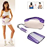 Vibration Slimming Massage Belt, Electronic Body Slimming Massage Fat Burning Waist Abdominal Exerciser