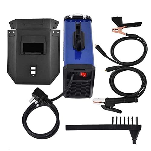 Soldadora Inverter, Soldadora de electrodos de 0.8-10 mm Soldadora de electrodos, 20-140Amp, Soldadora de varilla digital para el hogar con cepillo, accesorios y manija para herramientas, enchufe bri