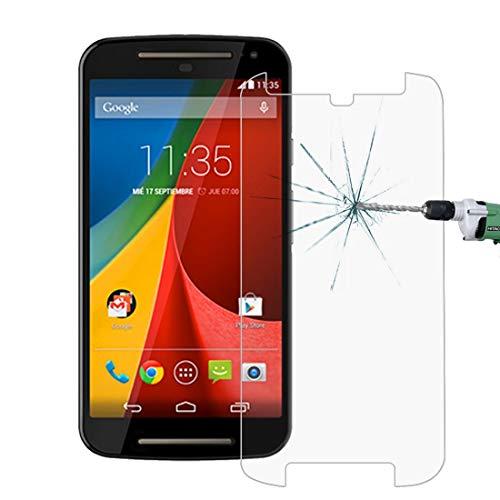 Película de cristal moderada del teléfono móvil 50 PCS for Motorola Moto G (2ª generación) 2014 0.26 mm 9H Dureza superficial 2.5D Película protectora de vidrio templado a prueba de explosiones, sin p