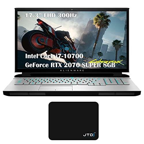 Dell_Alienware Area 51M R2 Gaming Laptop Gamer PC 17.3' FHD 300Hz Intel 8-Core i7-10700 GeForce RTX 2070 Super 8GB (32GB DDR4 RAM | 2TB PCIe SSD) Webcam RGB Backlit VR Ready Win 10 PRO JTD Pad