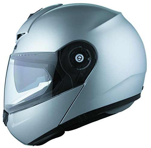 Motorrad-Helm Schuberth C3 Silber Pro Mittlere 56/57