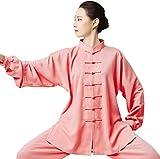 ZZX Ropa De Uniforme De Tai Chi Unisex Uniforme De Kung Fu Chino Seda De Algodón Artes Marciales Trajes De Tai Chi Ropa Tradicional De Tai Chi para Su Ejercicio De Tai Chi
