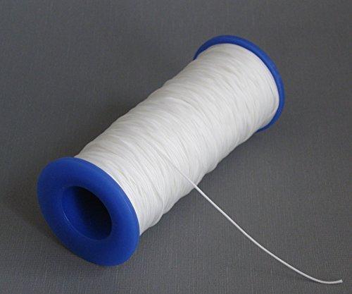 ps FASTFIX 10 Meter Schnur für Plissees (weiß) - Plisseeschnur 1,0 mm – Spannschnur für Plissee