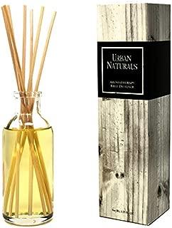 Urban Naturals Orange Vanilla Creamsicle Reed Diffuser Set | Long Lasting Air Freshener & Home Decor | Best Scented Candle Alternative | Orange Citrus & Vanilla Notes Deal! 3.75 oz