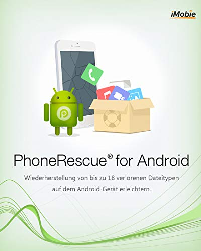 PhoneRescue Android MAC ( Android Data Recovery) (Product Keycard ohne Datenträger)